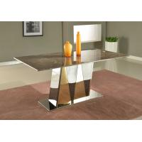 Quality Luxury Office Furniture Marble Dining Tables Marble Top Contemporary Dining Tables for sale