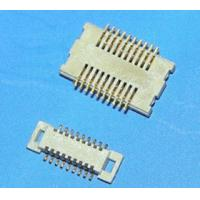 Buy cheap Alternative 0.5mm pitch btb male header and female socket connectors,1.5mm Heiht from wholesalers