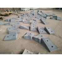 Wholesale High Cr Wear-Resistant Castings Iron Shell Liners With Hardness More Than HRC57 from china suppliers