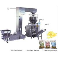 Wholesale Automatic snacks chips  weighing vertical forming filling sealing machine weighing packaging system from china suppliers