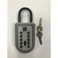 Wholesale 10 Digit Push Button Code Portable Key Lock Box , Internal 70*53*12 mm from china suppliers