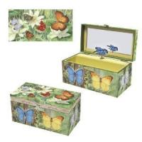 Wholesale 2013 cretive gift,Butterflies Music Box from china suppliers