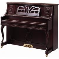 Wholesale Brown Polished Antique Acoustic Upright Piano from china suppliers