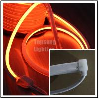 Wholesale AC 220V orange square led neon flexible light 220v 16x16mm for shop decoration from china suppliers