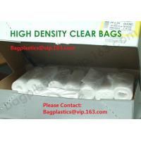 Wholesale HDPE Clear bags, nappy bags, nappy sack, diaper bag, alufix, rubbish bag, garbage from china suppliers