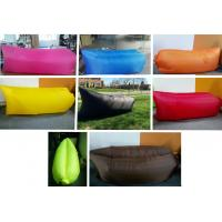 Wholesale Lightweight Outdoor Inflating Sleeping Bag Portable , Nylon Fabric from china suppliers