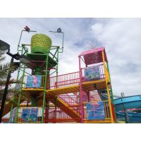 Quality Commercial Water Park Skip Bucket Water Fun Park For 200 People for sale