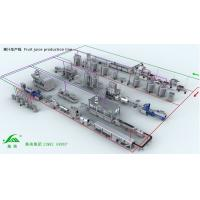 Wholesale Turn Key Projects Carton Package Fruit Juice Processing Line Equipment from china suppliers