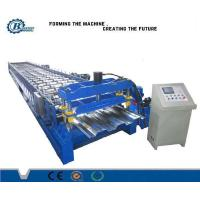 Wholesale 8 - 25m / min Speed Metal Deck Roll Forming Machine For Steel Floor Deck System from china suppliers