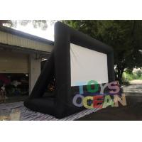 Buy cheap Oxford Inflatable Fast Folding Projection Screen For Outdoor Commercial Exhibition from wholesalers