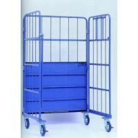 Buy cheap Foldable Storage Roll Container Transportation Carts For Warehouse from wholesalers