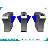 Wholesale Automatic Retractable Barrier Gate Turnstile, Mifare Flap Barrier Gate Turnstiles from china suppliers
