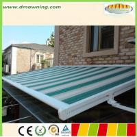 Quality heavy duty Remote motor sunshade greenroom of  waterproof roof retractable pergola awnings for sale