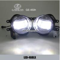 Wholesale Lexus GS 450h car front led fog light replacement DRL driving daylight from china suppliers