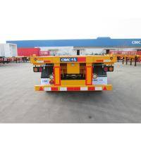 Wholesale 3 axle 20ft  truck manufacturers container semi trailer - CIMC from china suppliers