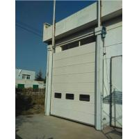 Quality Steel Sandwich Construction Industrial Sectional Doors Roller Exterior 24db Sound Insulation for sale