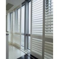Wholesale indoor 100% basswood sliding shutters for windows and doors with frame and rail from china suppliers