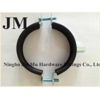 Quality Standard 6 Inch Rubber Pipe Clamp with Hanger Bolt And Plastic Anchor OEM for sale