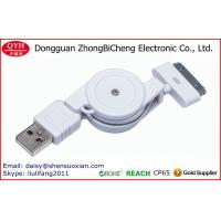 Wholesale Retractable USB 2.0 o 30Pin Super Speed Data Sync Cable from china suppliers