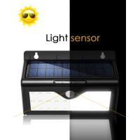 Quality IP44 3.5w Solar Motion Sensor LED Light Solar Landscape Lighting 5.5V / 150mA Polycrystalline for sale