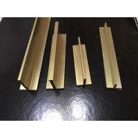 Wholesale Brass Tee Bar Small Tee Profiles In Specific LengthsCopper T Slot Framing from china suppliers