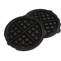 Electric Non Stick Cone / Heart Shaped Waffle Maker With Double Head