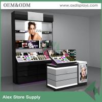 Wholesale Cosmetic display counter sephora cosmetics displays for makeup shop decoration from china suppliers