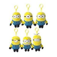 Wholesale Despicable Me Minions Stuffed Animals Plush Toy Keychain Backpack Clip from china suppliers