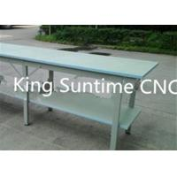 Wholesale Double - Deck Fabric Pattern Cutting Table , Semi - Automatic Cloth Cutting Table For Quilting from china suppliers