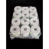 Quality 12rolls Packing Toilet Tissue Paper Roll 10 x 10cm Recycle Wood Pulp for sale