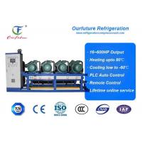 Wholesale Frozen Egg Cold Storage Cold Room Compressor Unit 120hp R404a from china suppliers