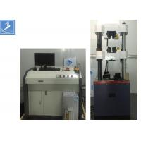 Wholesale Steel Column Universal Testing Machine 600 KN Electro - Hydraulic Servo motor from china suppliers