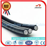 Wholesale 2 * 25 Duplex Underground Aluminum Cable , 2 Aluminum Wire XLPE Insulated Cable from china suppliers