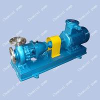 Wholesale IH corrosion resistant chemical pump,stainless steel pump,centrifugal pump from china suppliers