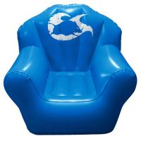 Wholesale Comfortable PVC Inflatable Sofa Chair Sofa For Temporary Seating from china suppliers
