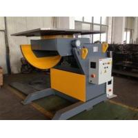 Buy cheap Tilting Mechanical Welding Positioner Turning Table Revolving Speed Controled by Imported Danfoss VFD from wholesalers