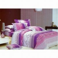 Wholesale Printed Bed Sheet, Made of 100% Cotton Twill, Available in Various Colors and Sizes from china suppliers