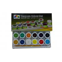 Wholesale Metallic primary acrylic paint colors , Tempera Colour set Paint Color Pigments from china suppliers