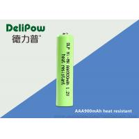Wholesale High Temperature Aaa Rechargeable Batteries , Nimh Rechargeable Aaa Batteries 900mAh  from china suppliers