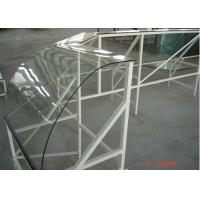 Wholesale Curved Clear Tempered Glass Laminated For Sunlight Room , Decorative Tempered Glass Panels from china suppliers