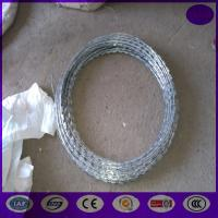 Wholesale 10 meter /roll Hot Dipped Galvanized Razor barbed wire from china suppliers