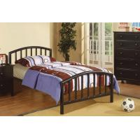 Quality Youth Double Size Home Full Size Metal Beds Modern Black With Footboard for sale