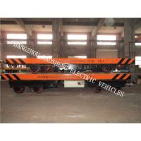 Wholesale Turning Rail Flat Car 20 Tons Load Battery Power With Alarm Light KPX-20 from china suppliers