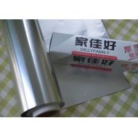 Wholesale 30 M Length  Heavy Duty Stove Aluminium Foil 450 mm Width 0.018 mm Thickness For Bakery Roll from china suppliers