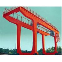 Wholesale Warehouse Shipbuilding Gantry Crane , 10 - 50t U Type Double Girder Gantry Crane from china suppliers