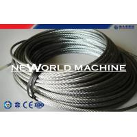 Wholesale Stainless Dteel Eire Rope 316 Model Galvanized Steel Wire Rope from china suppliers