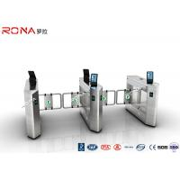 Wholesale Face Recognition Speed Gate Turnstile Access Control System 30 Persons / Min from china suppliers