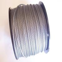 Wholesale 316 7x7 Stainless Steel Wire Rope , EN12385-4 / DIN for gill racks from china suppliers
