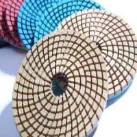 Wholesale Wet granite polishing pad turbo shape from china suppliers
