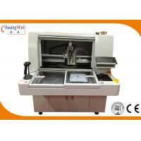 Wholesale Dual Vacuum Blow 2 Station 0.5 - 3.0mm PCB Router Machine With Manual Bit Change from china suppliers
